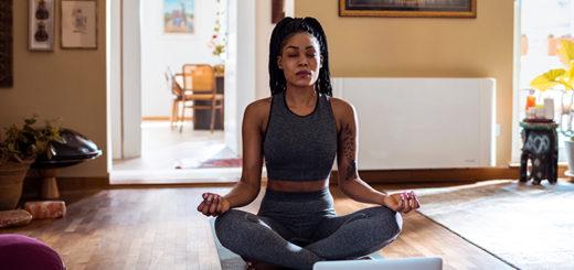 Home Into A Yoga Studio