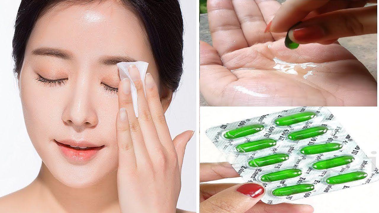 Vitamin E Capsules For Your Skin