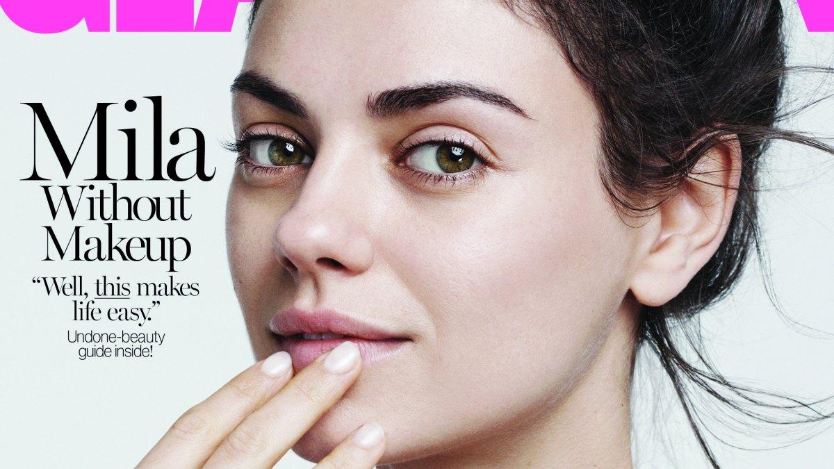 Makeup-Less Avatars Of Mila Kunis