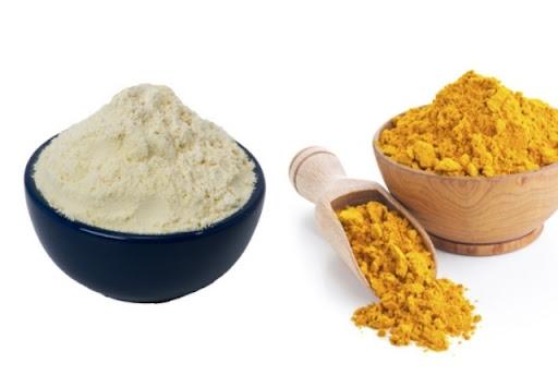 Turmeric And Rice Flour