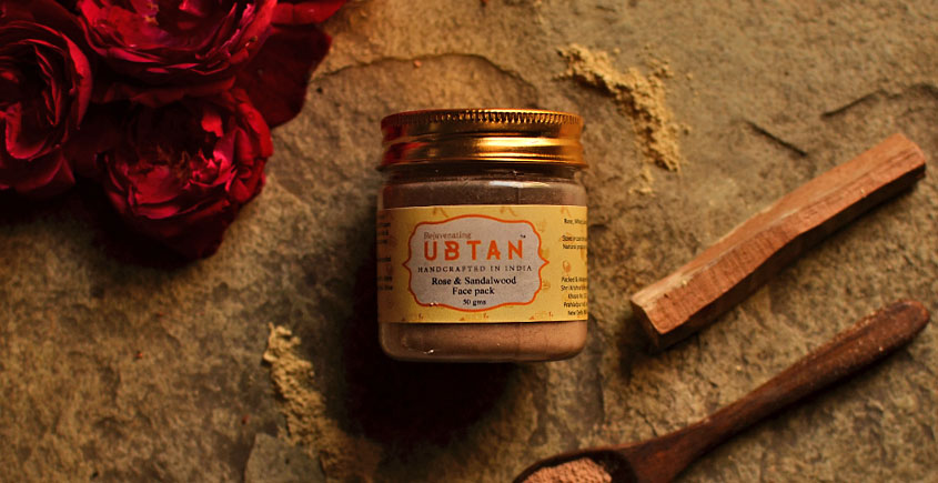 Ubtan And Rose Water