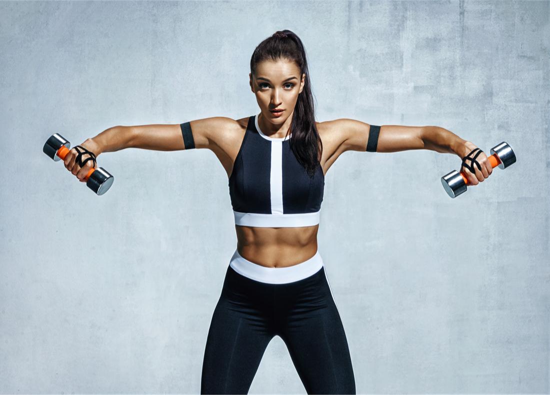 Dumbbell Exercises Women Get Strong Shoulders