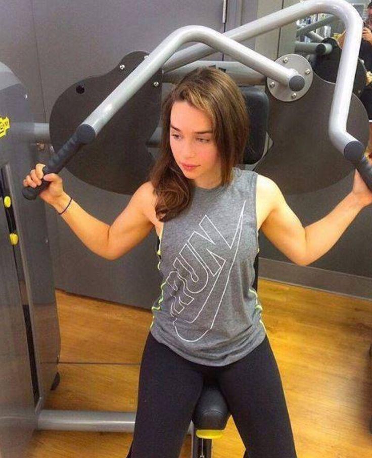Emilia Clarke Workout