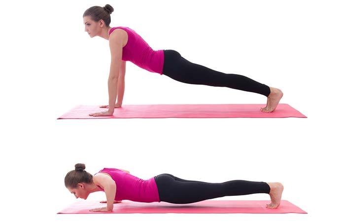 Plank Ups
