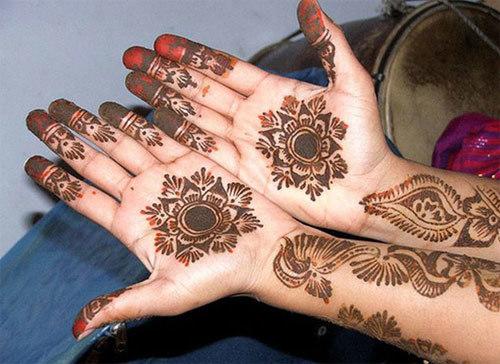 dark color henna